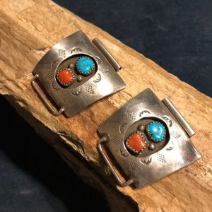 Jewelry - Native American Sterling Silver Watch Band
